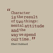 character attitude