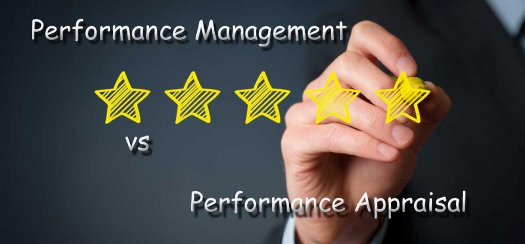 performance management vs appraisal