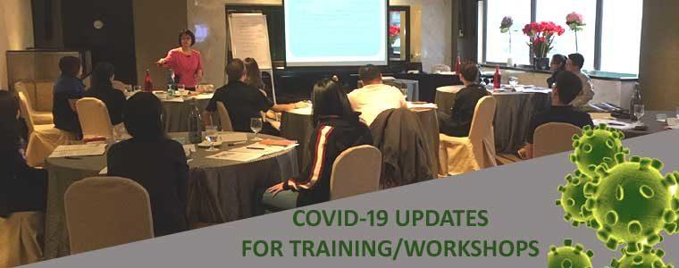 Training Precautionary Measures – COVID-19 Updates
